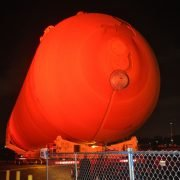 oversize load - space shuttle fuel tank
