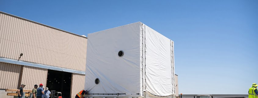 WCS Helps NASA Move Shipping Container