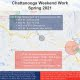 TN: Chattanooga Interstate Construction & Oversize Restrictions