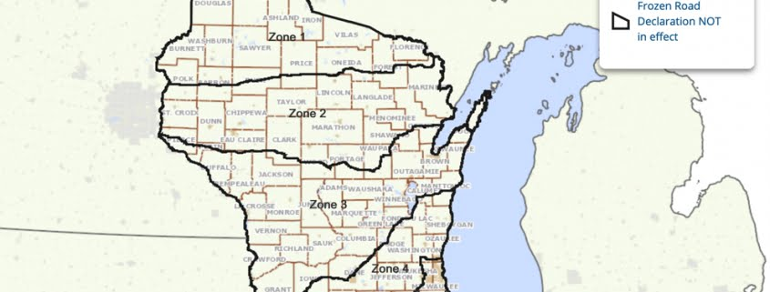 Wisconsin Spring Weight Restrictions